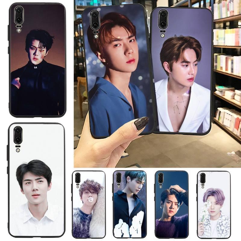 Zhangyixing luhan Corea carcasa de teléfono para Huawei P9 P10 P20 P30 Pro Lite smart Mate 10 Lite 20 Y5 Y6 Y7 2018 2019
