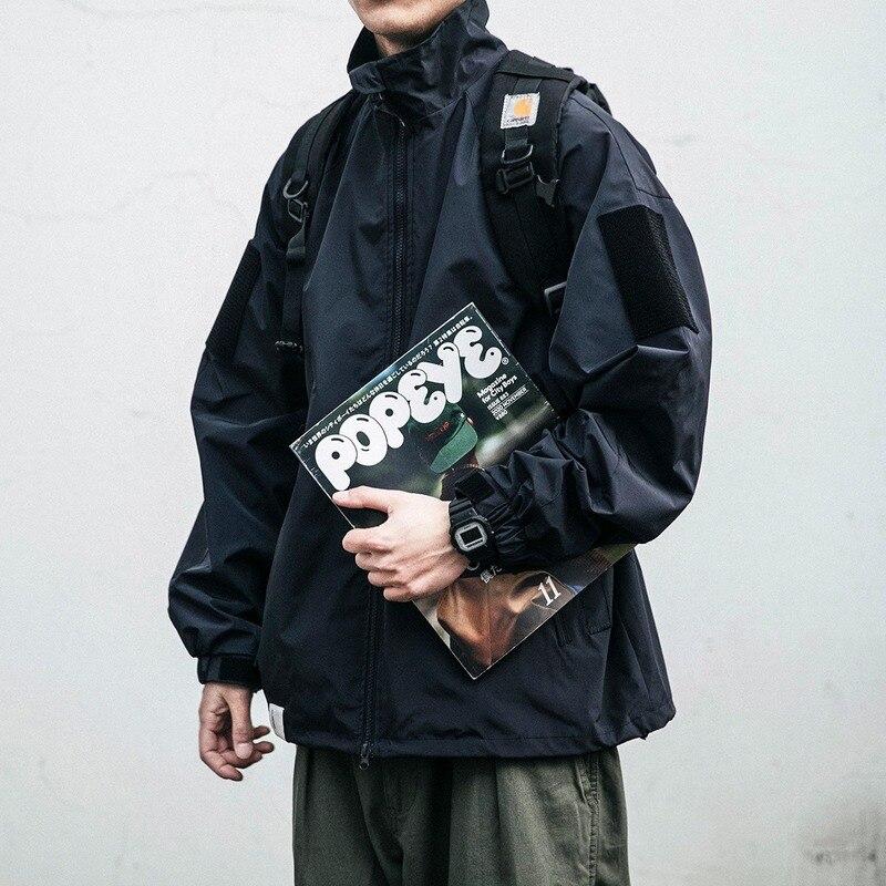 Куртка Varsity, мужские зимние куртки-бомберы, Мужская толстовка, пальто, бейсбольная уличная одежда для осени, ветровка, Techwear, мужская одежда