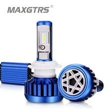 MAXGTRS-phare antibrouillard automobile H1 H4 Hi/Lo   Faisceau H7 H8 H11 9005 HB3 9004 H27 880 881, 80W CSP CSP, phare antibrouillard