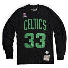 Mitchell & Ness impression numéro Ls Tee-shirt Boston Celtics
