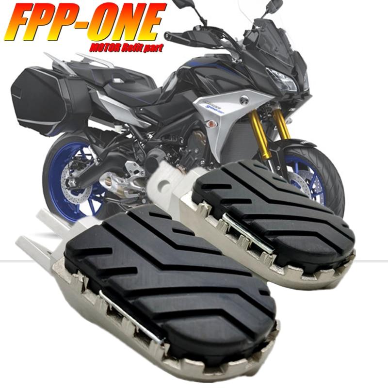 مسند قدم أمامي لـ YAMAHA TRACER 900 GT 700 GT ، ملحقات دراجة نارية ، مسند قدم ، TRACER900 TRACER700 GT