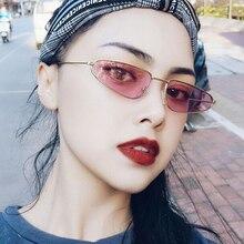 New Metal Cat Eye Women Sunglasses Retro Triangle Water Drop Fashion Sun Glasses Ladies Brand Design