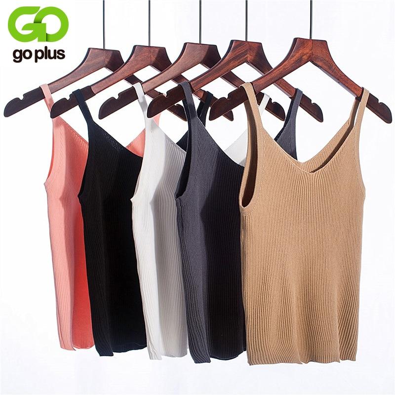Летний вязаный укороченный Топ для женщин, повседневный сексуальный топ без рукавов с v-образным вырезом и открытыми плечами, женская одежда, Ropa Mujer