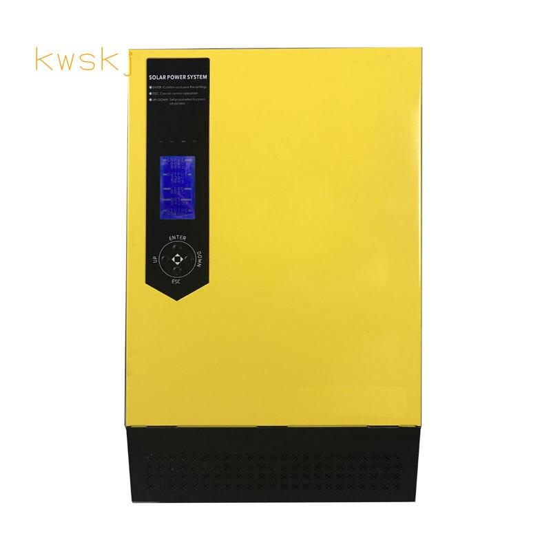 الطاقة الشمسية عاكس الطاقة 2000 واط 3KW 4KW 5KW شبكة عزل الحرارة DC12V 24 فولت 48 فولت إلى AC110V/220 فولت 50 هرتز/60 هرتز الطاقة استخدام المنزل العاكسون