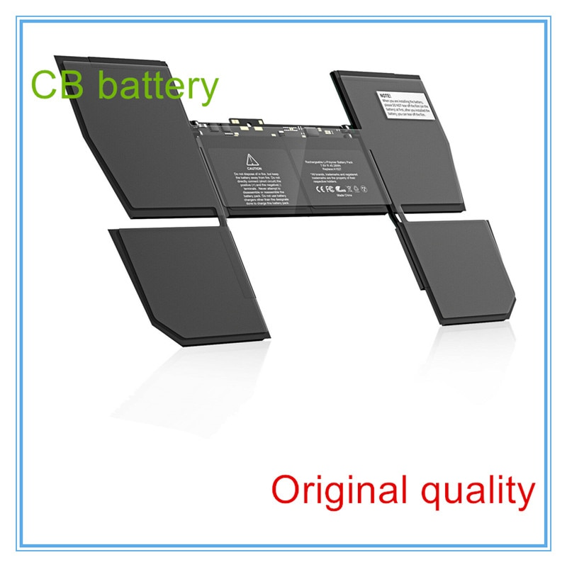 Review Original Laptop Battery A1527 For Retina 12″ A1534 Early 2015 MJY32LL/A MF855 Free Shipping