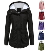 women coats and jackets winter 6 color waterproof high quality hooded long coat casual classical style parkas warm puffer coats