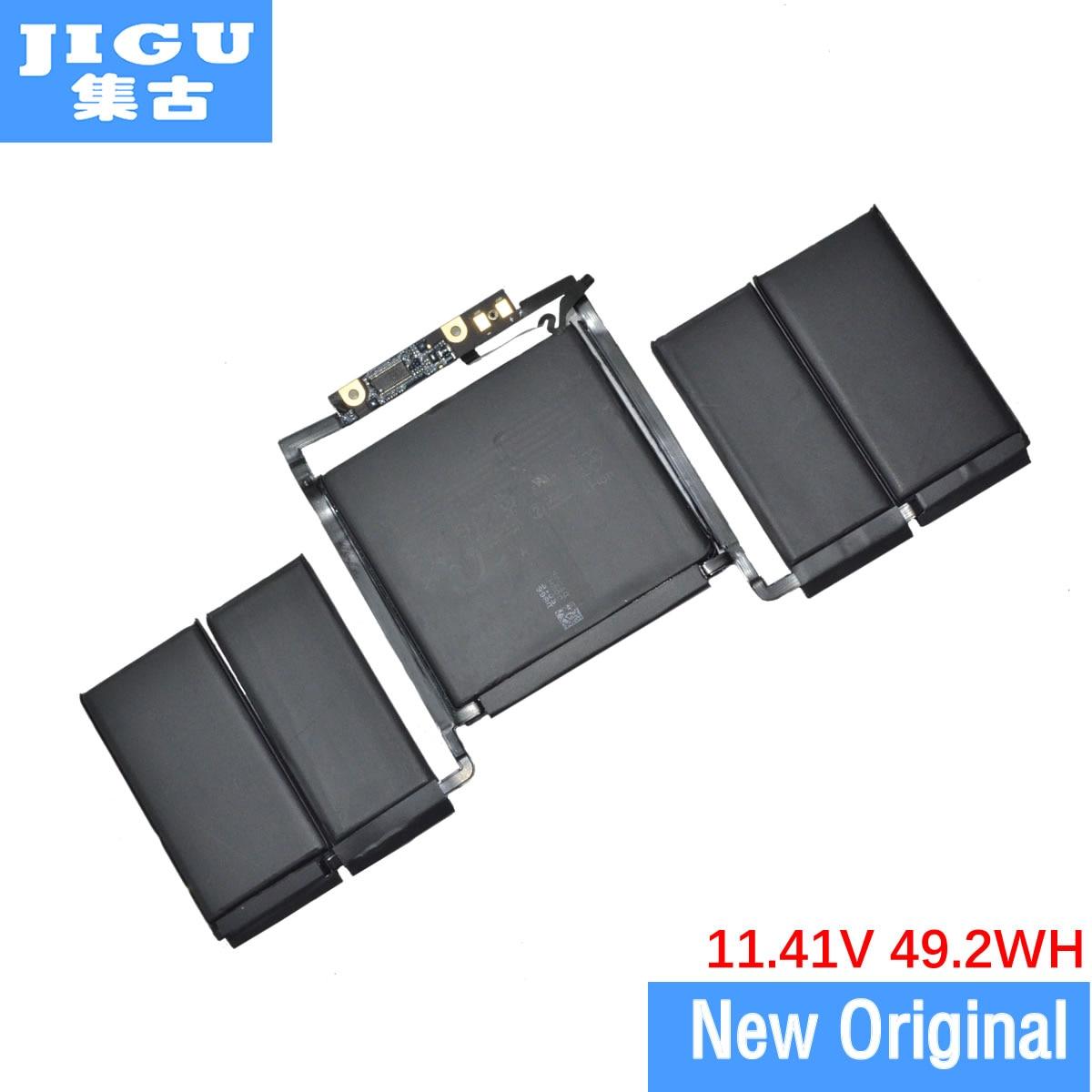 Аккумулятор JIGU для ноутбука APPLE A1819 A1706 MNQG2CH/A MLH12CH/A, 11,4 в, 49.2WH, оригинальный, для MacBook Pro 13