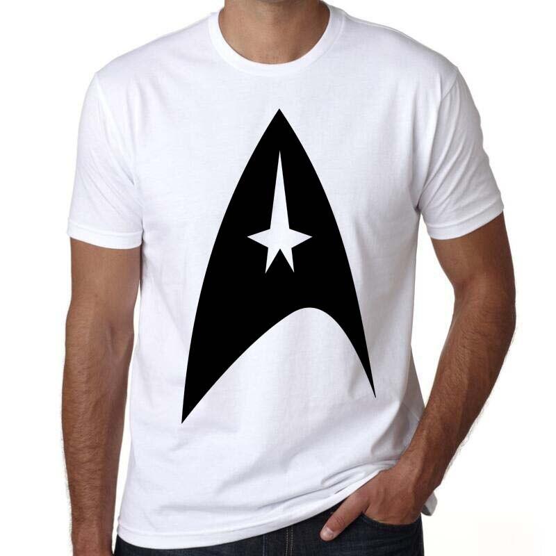 Camiseta para hombre, camiseta de manga corta de la Federación de planetas de Star Trek Starfleet Commander, envío directo