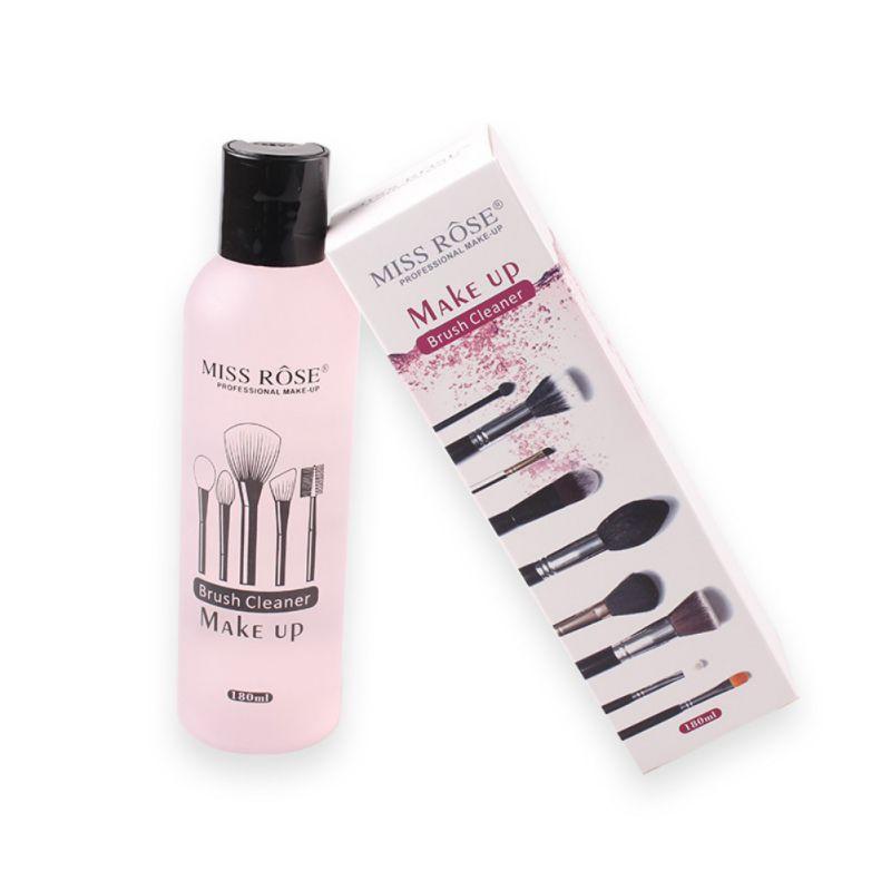 Herramienta de limpieza rápida para pinceles de maquillaje, limpiador de maquillaje líquido, 180ml, venta al por mayor