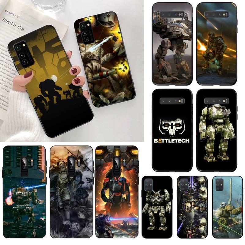 Funda de teléfono HPCHCJHM Battletech para Samsung S20 plus, Ultra S6, S7 edge, S8, S9 plus, S10, 5G