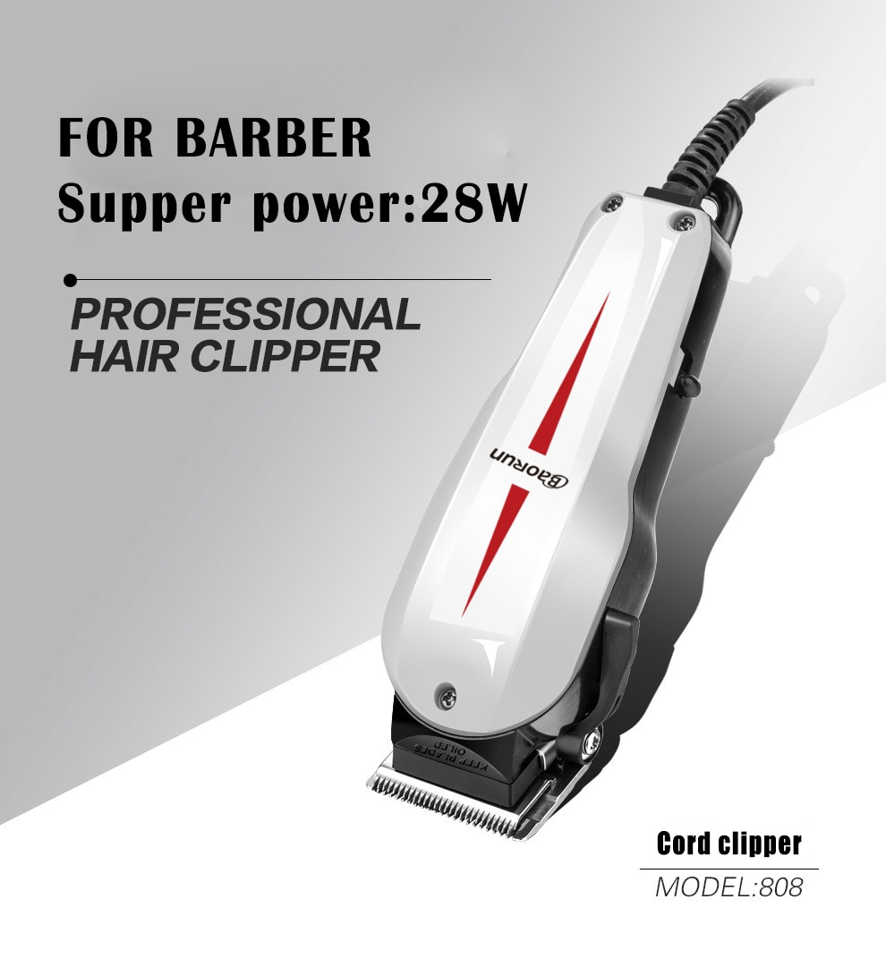 professional corded hair clipper machine wired hair cutting machine for barbershop electric 220V hair clippers men professional enlarge
