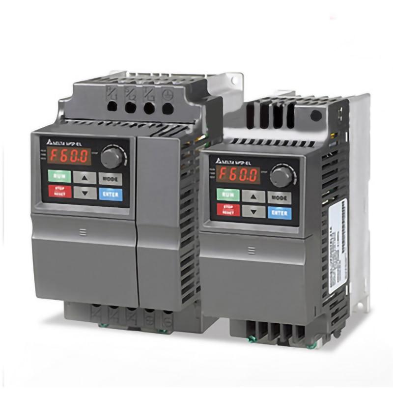 Original bbrandnew VFD-EL inversor ac motor drive vfd002el21a 1 fase 220v 200w 0.25hp 1.6a 600hz ponto