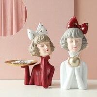 """Настольная статуэтка """"Стильная девушка"""" Посмотреть"""