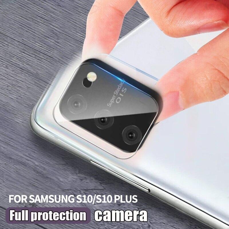 Telefon Kamera Screen Protector Ultra-dünne Hinten Kamera Objektiv Gehärtetem Glas HD Film Protector Für Samsung S10/S10 plus/S10 Lite