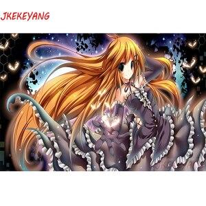 5D Diy diamond painting Anime girl Diamond Mosaic sale Rhinestone Embroidery cross stitch Y3898
