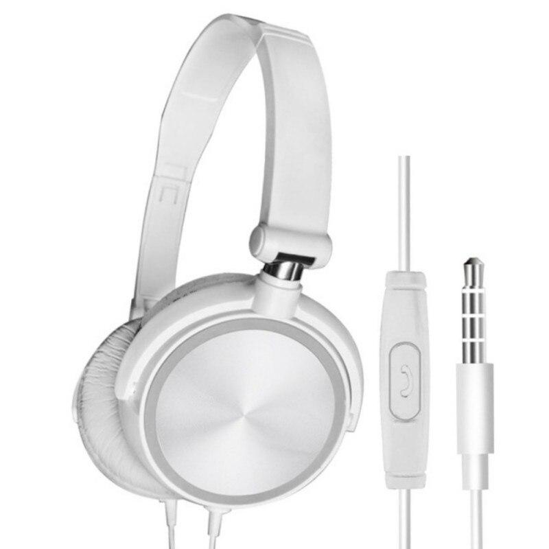 K auriculares TWS de alta calidad con cable sobre la oreja música HiFi estéreo Subwoofer auriculares con/sin micrófono fone de ouvido