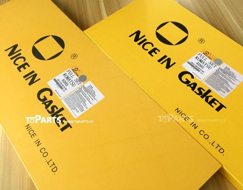 Nice in GASKET 1878129851 Engine gasket kit 6HK1 Excavator ZAX330 engine parts Gasket kit high quality enlarge