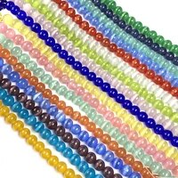 natural stone beads cat eye stone cymophane round loose beads for jewelry making bracelet necklace women gift size 46810mm