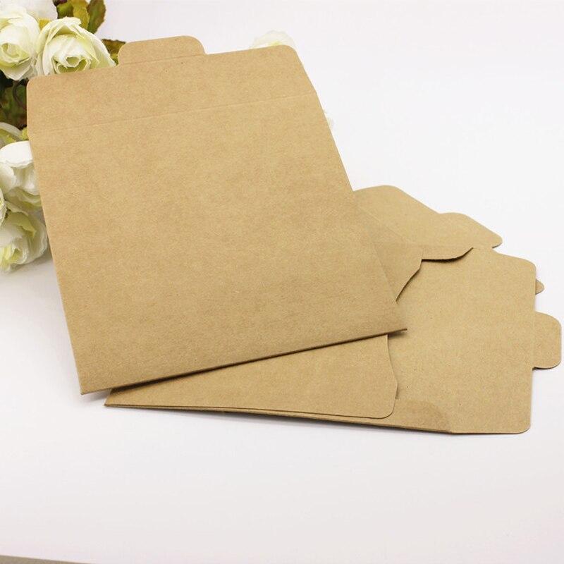 12.5*12.5cm Antique Import Kraft Paper CD Bag Envelope 50pcs/lot Restro Pearl paper Packag Bag CD Envelope Card Envelope