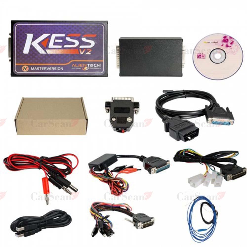 For KESS V2 V2.37 FW V4.036 OBD2 Tuning Kit Without Token Limitation