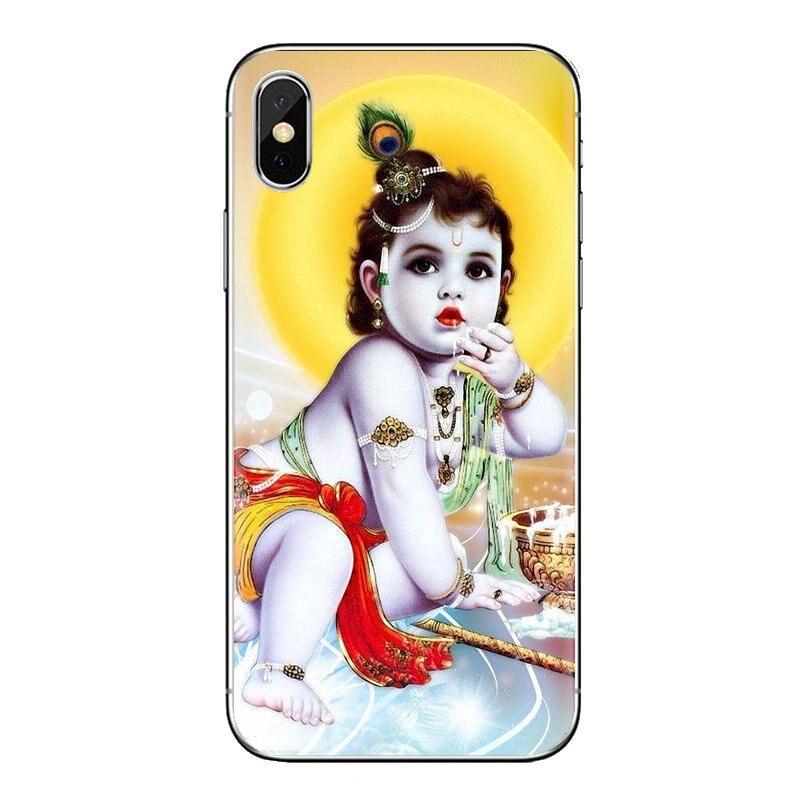 Funda de móvil suave de TPU Dios indio Señor Krishna para Huawei P inteligente Y6 P8 P9 P10 más Nova P20 Lite Pro Mini 2017 SLA-L02 SLA-L22 2i