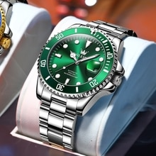 OLEVS Luxury Men's Automatic Watches Fashion Mechanical Watch Man Waterproof Sports Clock Male Wrist