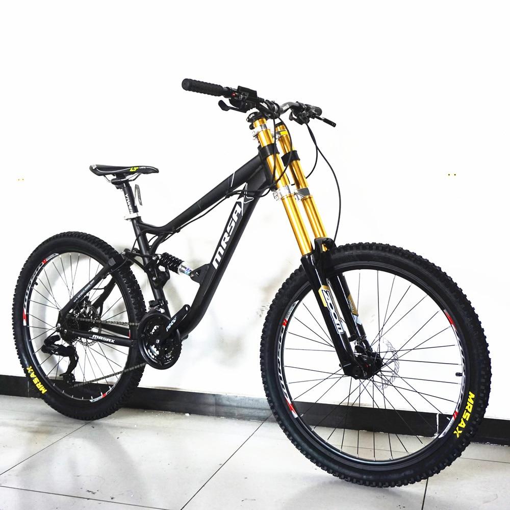 جديد العلامة التجارية الإنحدار الدراجة الجبلية سبائك الألومنيوم إطار النفط قرص الفرامل لينة الذيل Bicicleta الرياضة في الهواء الطلق MTB دراجة