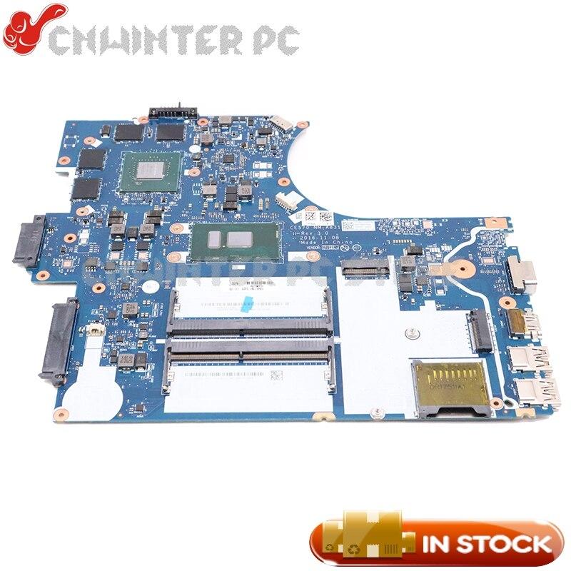 NOKOTION لينوفو ثينك باد E570 E570C اللوحة المحمول 01EP403 01YR733 01HW730 CE570 NM-A831 SR341 I7-7500U DDR4 GTX950M GPU