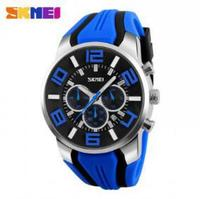Часы наручные SKMEI Мужские кварцевые, модные повседневные водонепроницаемые спортивные цветные с белой коробкой, 9128