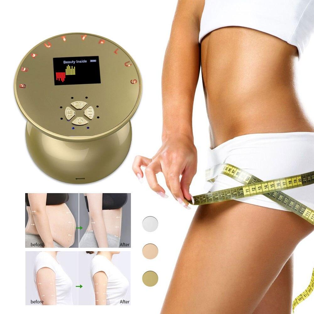جهاز تدليك الجسم للتخسيس بالموجات فوق الصوتية جهاز رفع تردد RF فقدان الوزن الموقد الدهون تردد الراديو مكافحة السيلوليت الموجات فوق الصوتية