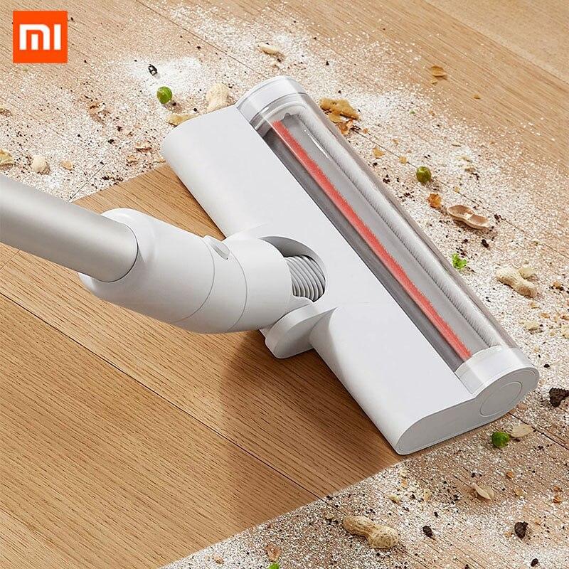 Aspirador de pó sem Fio Orginal Xiaomi Mijia Lite Handheld Portátil Varredura 17kpa Ciclone Sucção Chão Escova Casa Ferramenta Limpeza