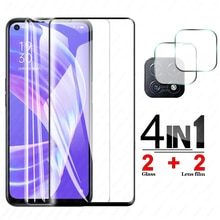 Protective Glass on for Oppo A73 5g 2020 Screen Protectors Camera lens Tempered glass on for a735g o
