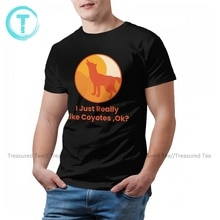 Coyote T-shirt Mode 100 Katoen Basic T-shirt Korte Mouw Print Tshirt 4xl Mannelijke