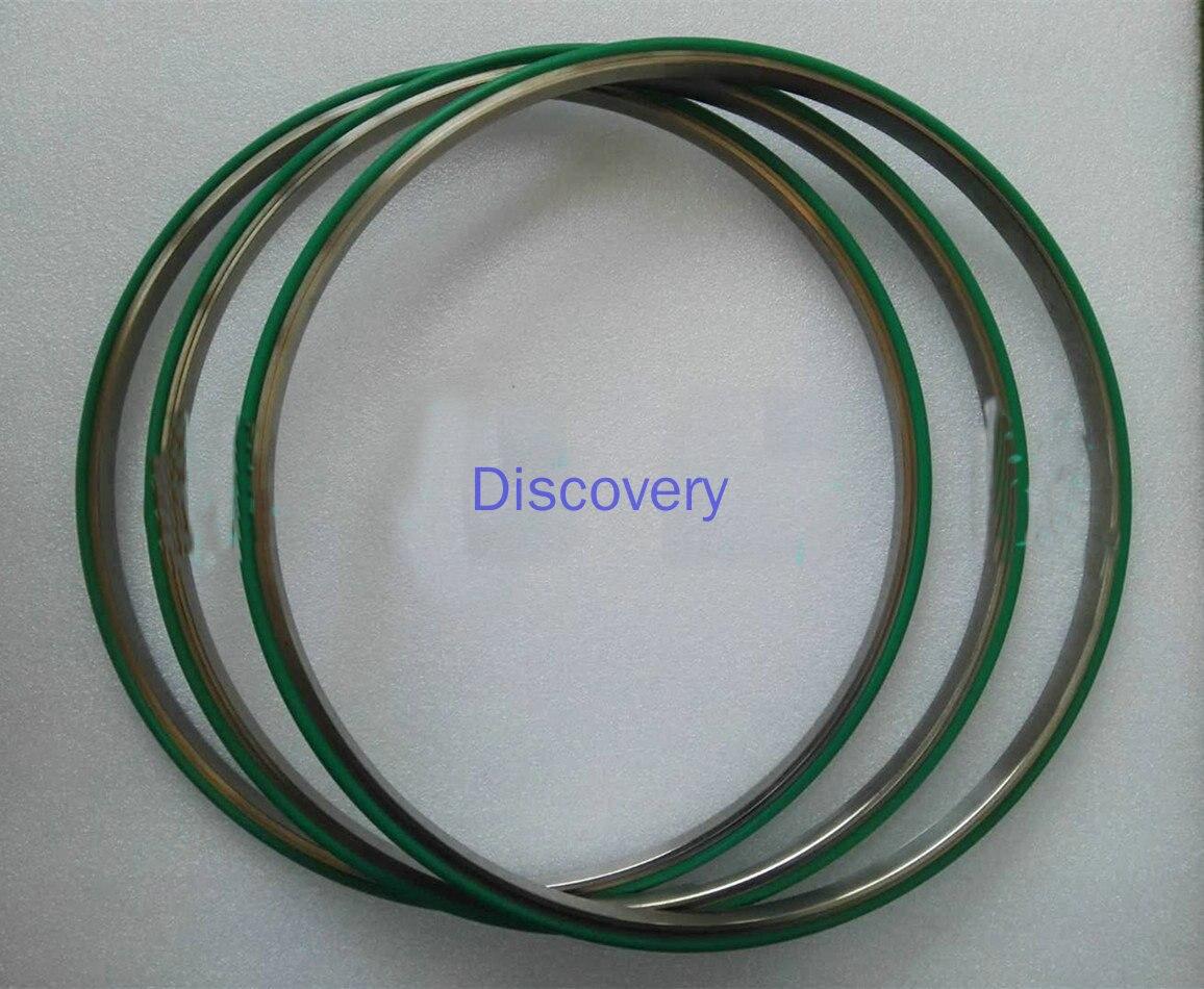 304 مكنسة من الفولاذ المقاوم للصدأ LF/ISO400/500 مركز الدائري/320 حلقة لإحكام الإغلاق الدعم/حلقة المطاط الفلور