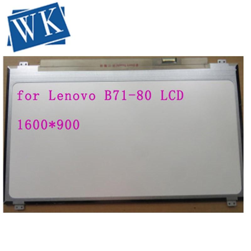 "17,3 ""Matriz de portátil para Lenovo B71-80 HD + LCD pantalla LED 1600X900 30 pines reemplazo del panel"