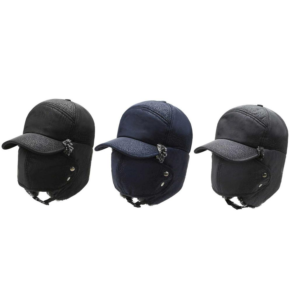 Winter Warm Hat Ear Protection Unisex Thickened Cold-proof Outdoor Riding Mountaineering Ski Hat