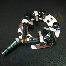 Jeu de brosses carbone pour Yamaha   Pour hors-bord Yamaha, moteur 115HP 150HP, 200HP, moteur de démarrage
