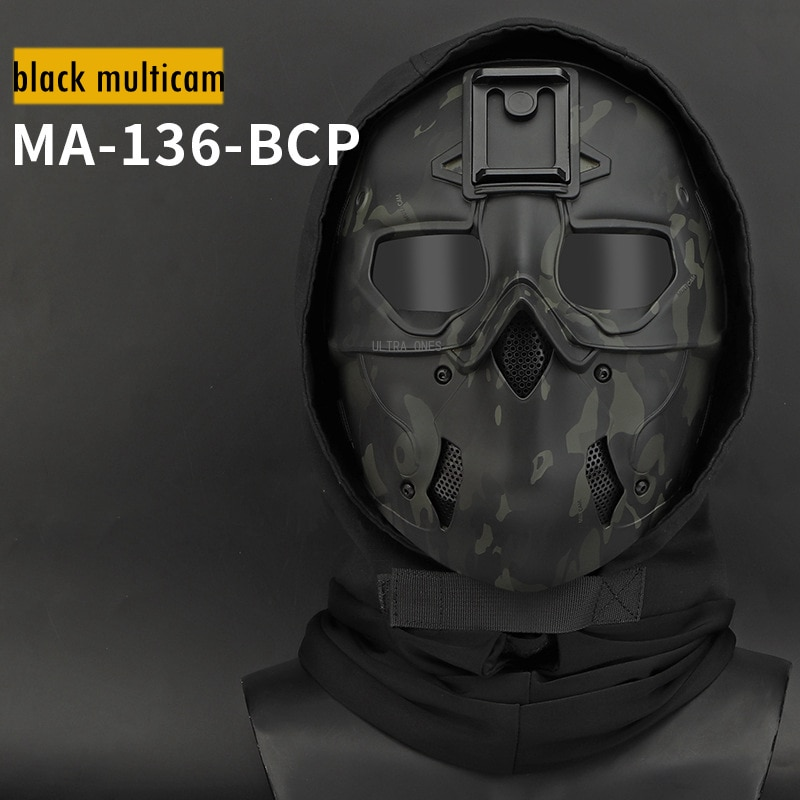Hunting Tactical Skull Mask Arisoft Paintball Cs Training Army Full Face Mask Camo Combat Cosplay Masks Military Accessories
