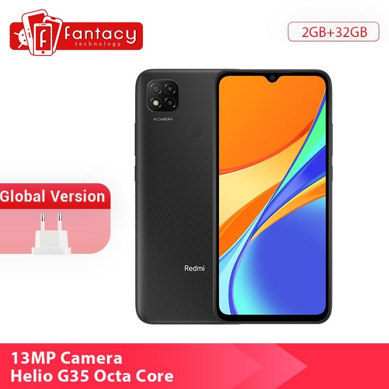 Neue Globale Version Xiaomi Redmi 9C 9 C Smartphone 2GB 32GB 6.53 Bildschirm 13MP Triple Hinten Kameras helio G25 Octa Core 5000mAh