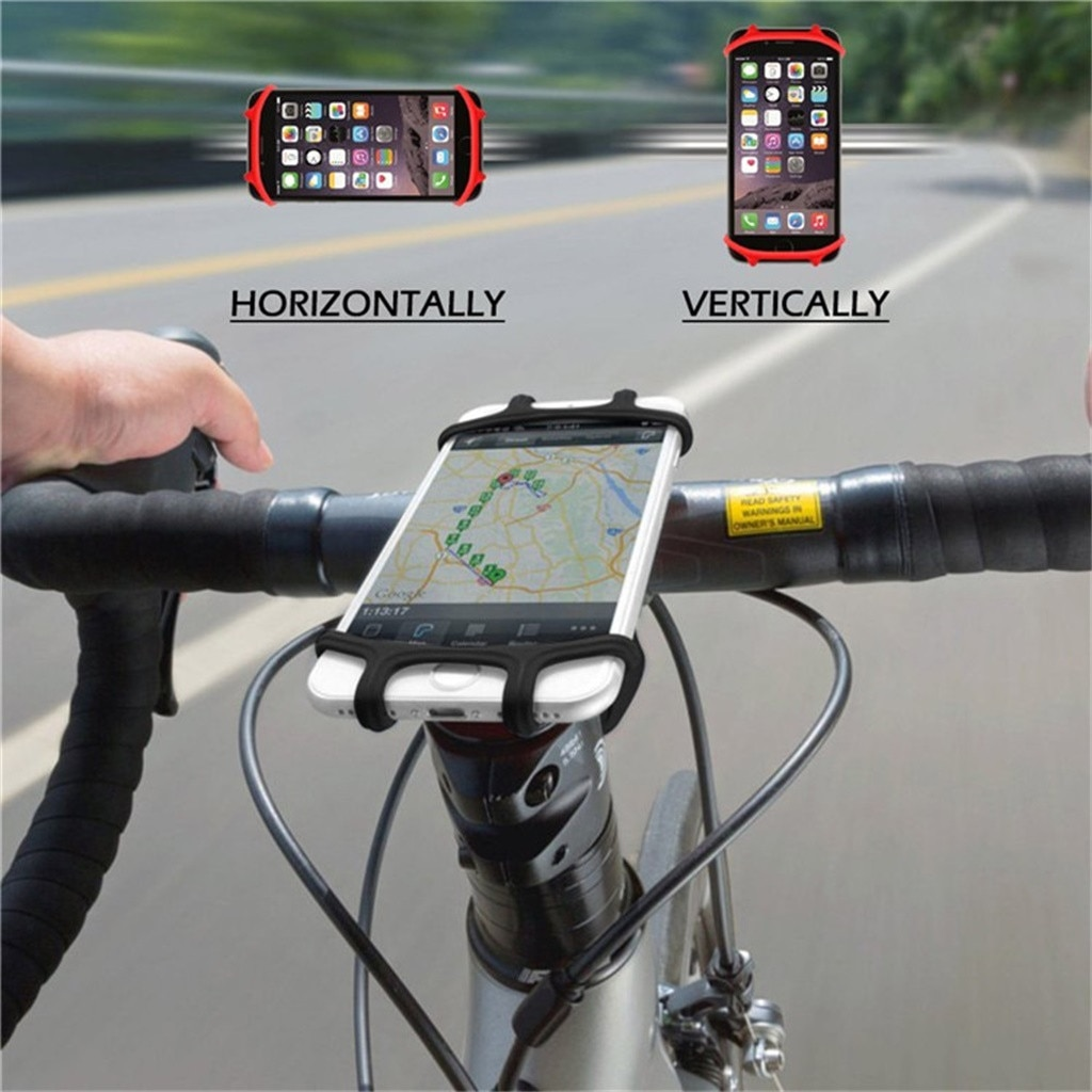 Soporte para teléfono móvil soporte para bicicleta motocicleta soporte para teléfono móvil con cargador USB para teléfono móvil dropshipping