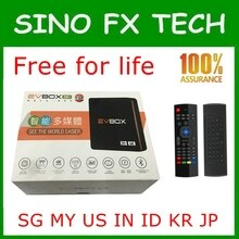 2020 EVBOX 3R + trasporto per tutta la vita per orologio HK,TW,KR,JP,SG, IL MIO, STATI UNITI, NUOVA ZELANDA, ID 2G 16G dual band wifi EVBOX 3R