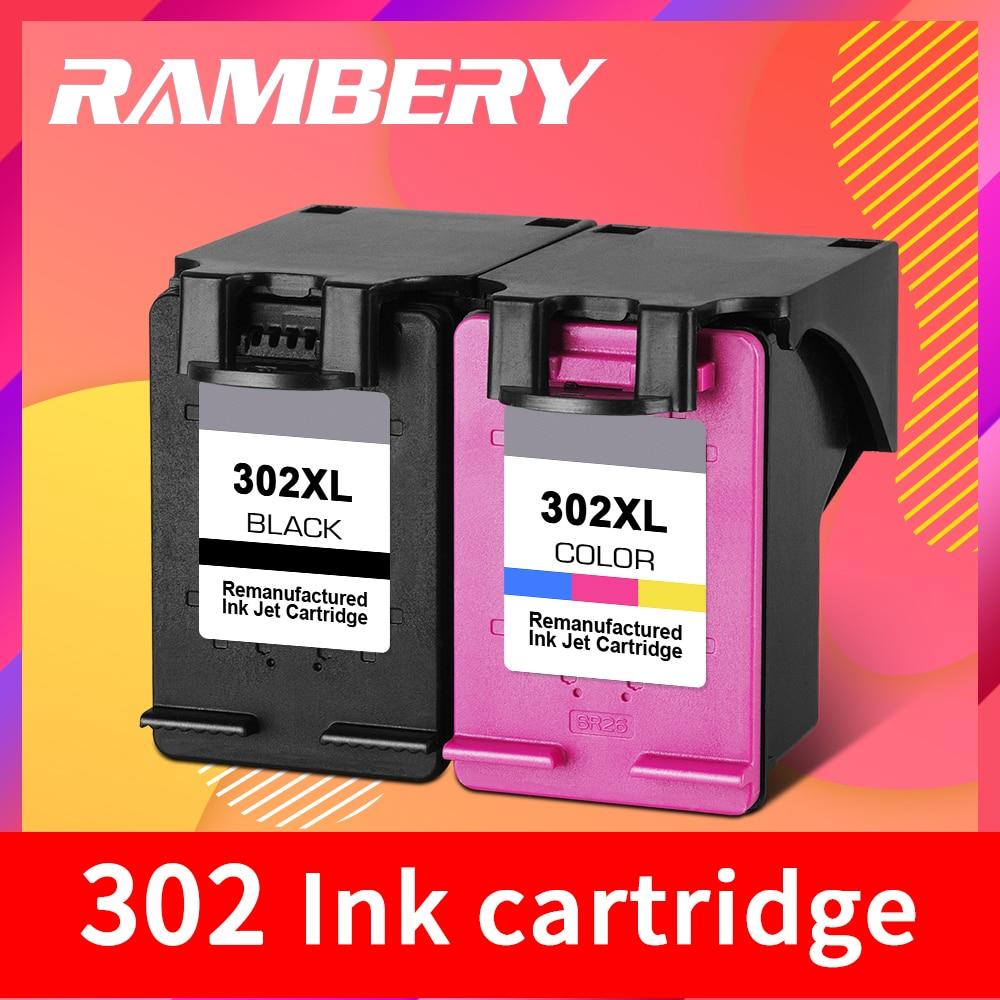 302 reemplazo de cartucho de tinta para hp 302 xl hp 302 cartucho de tinta para hp Deskjet serie 1110, 1111, 1112, 2130, 2131 impresoras