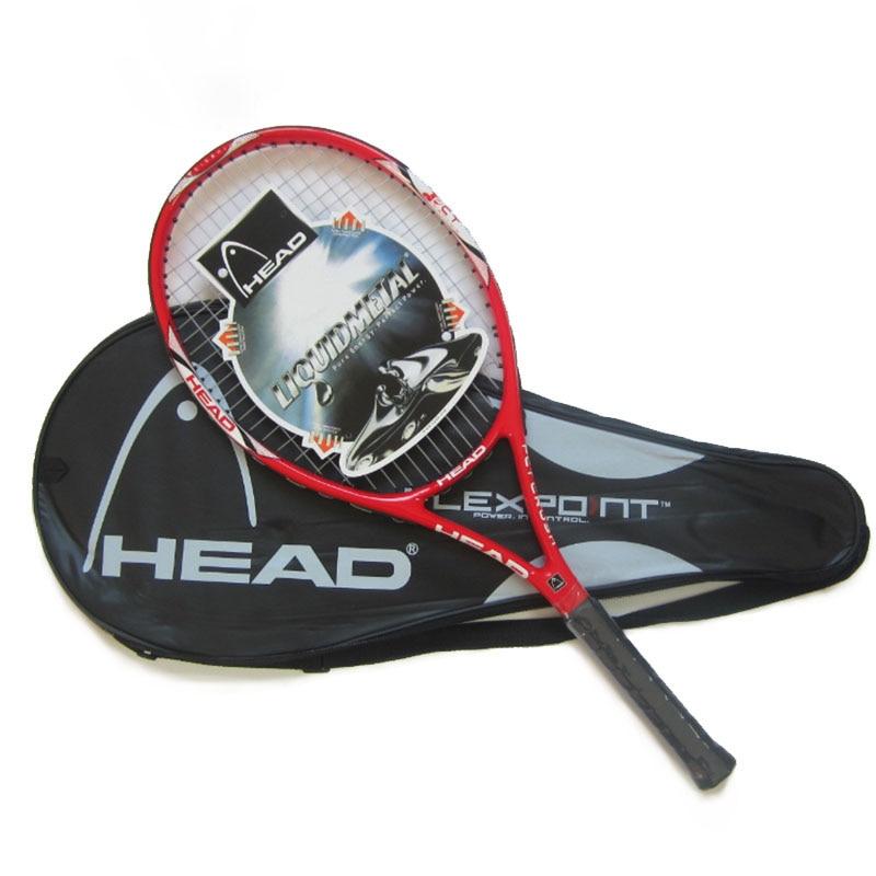 100% oryginalny szef rakieta tenisowa darmo z torba tenisowa Top materiał włókno węglowe z tenis ciąg naprawiono na mecz i szkolenia