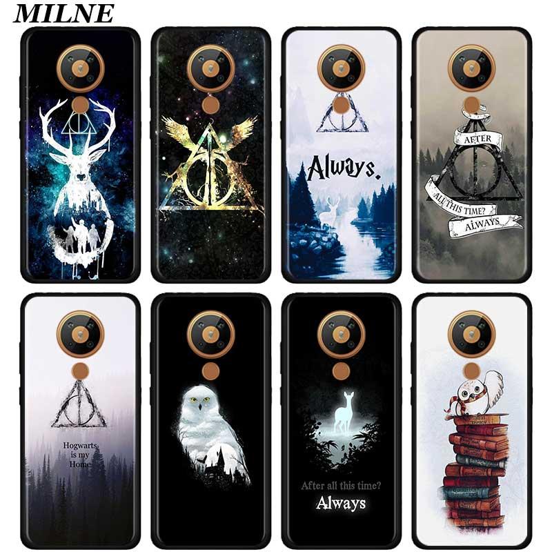 Funda de silicona para teléfono Nokia 2,2 2,3 3,2 4,2 6,2 7,2 1,3 5,3 8,3 5G funda trasera suave Coque Fundas Capa Always Hogwart Potter
