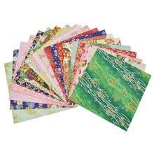 30pcs Japanese Origami Folding Craft Paper Traditional Flower Design Handmade Artcrafts Diy Accessories