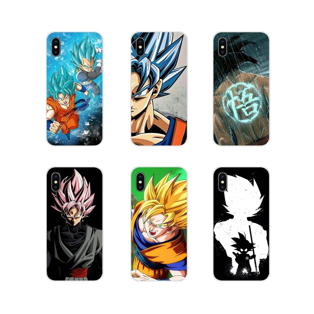 Para HTC One U11 U12 X9 M7 M8 A9 M9 M10 E9 Mais Desejo 630 530 626 628 816 820 830 Shell Transparente Macio Caso Dragon Ball Z Goku