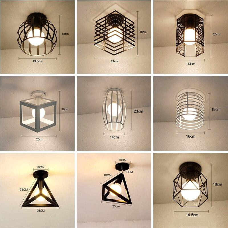 Luces LED de Techo modernas para sala de estar, iluminación para el...