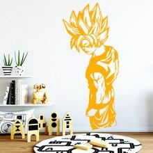 النمط الأوروبي Wukong لعبة دراغون بول ملصقات ذاتية اللصق الفن خلفية للأطفال غرف ديكور المنزل الفينيل ملصقات فنية