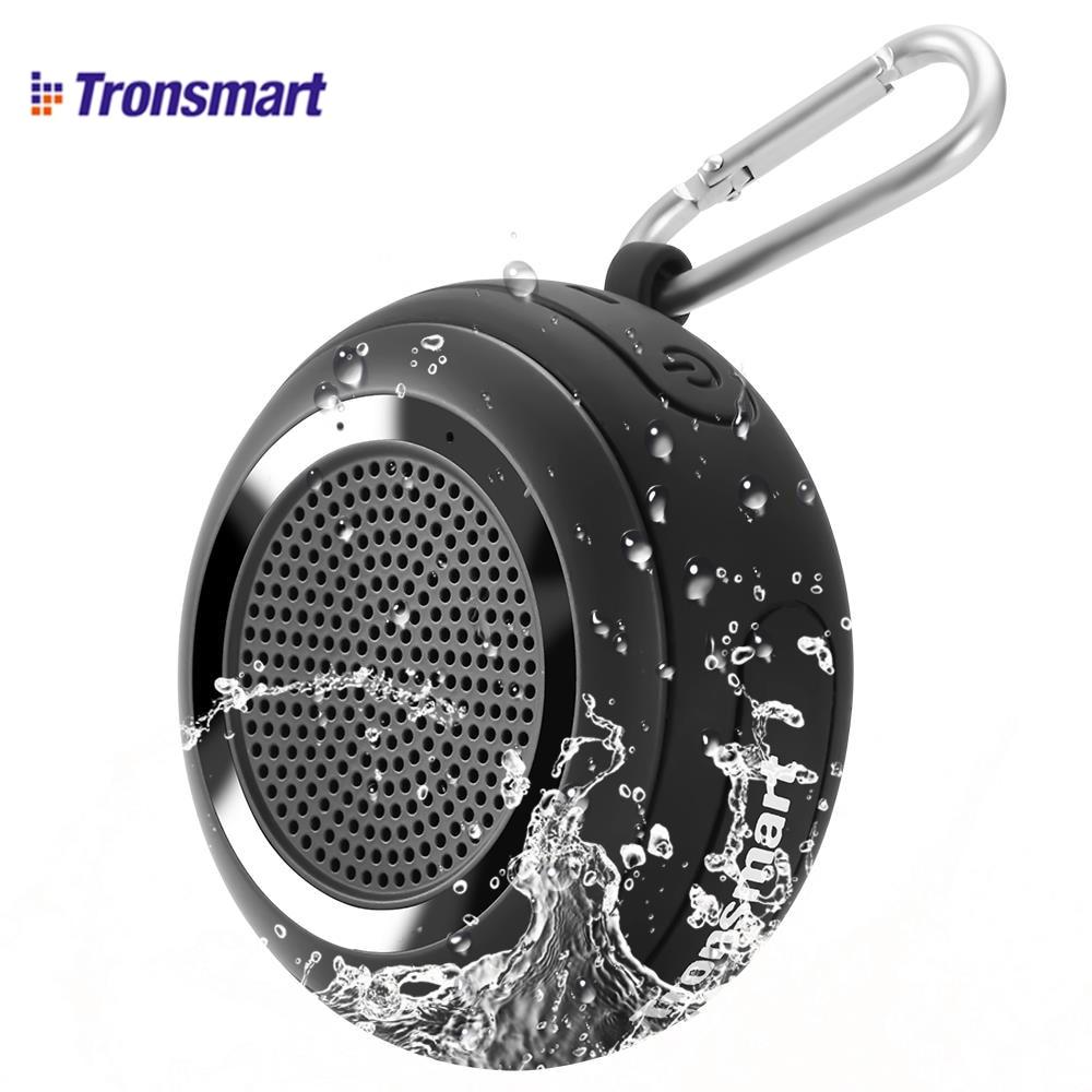 Tronsmart عنصر سبلاش IP67 مقاوم للماء مكبر صوت بخاصية البلوتوث قابل للنقل مع TWS للهواتف الذكية iOS أندرويد أسود