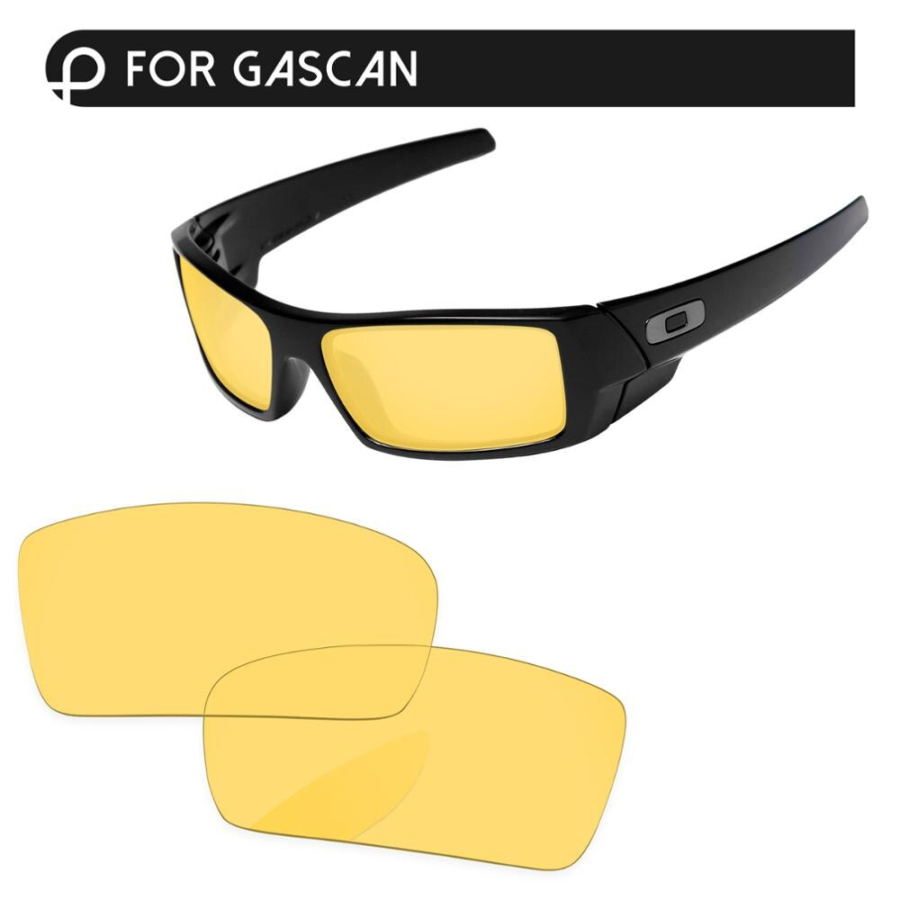Papaviva cristal amarillo lentes de repuesto para gafas de sol Gascan marco 100% Protección UVA y UVB